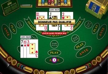 Règle et stratégie pour le poker à trois cartes