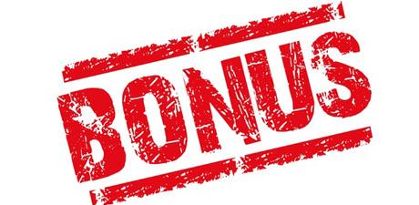 Explication des différents types de bonus proposés