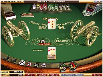 Les règles du Casino War