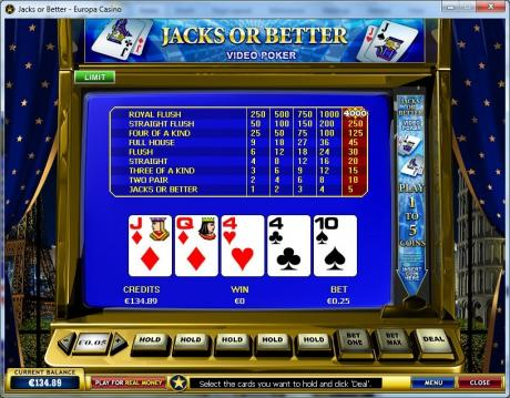 Stratégie Video Poker