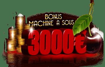 Les meilleurs bonus de casino pour les Machines à sous
