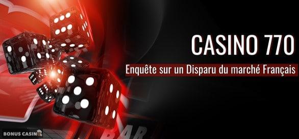 Casino770 bonus sans dépôt, une autre facette des jeux en ligne