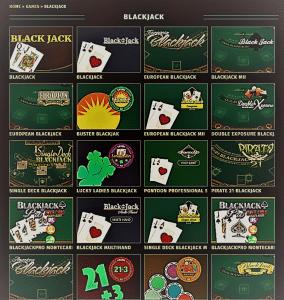Blackjack - Tropezia Casino - Bonus Casino