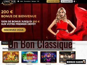 Casino Unique - Bonus Casino