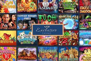 Exclusive casino jeux