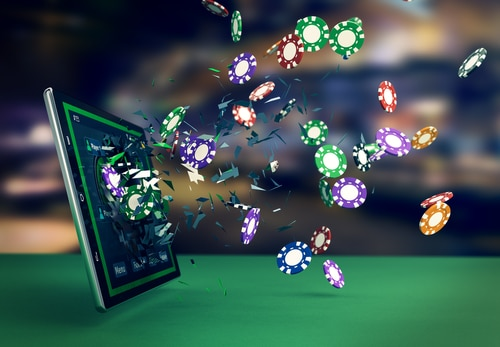 ipad avec logiciel casino