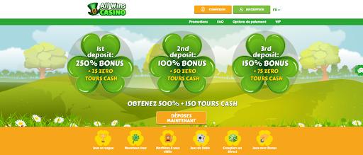 AllWins Casino Bonus