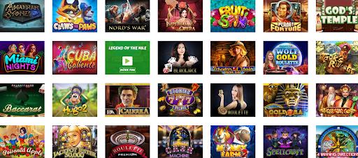 AllWins Casino Jeux
