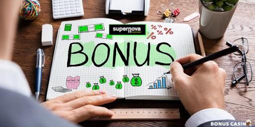 SuperNova Casino Bonus