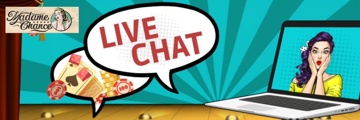 madame chance casino - live chat