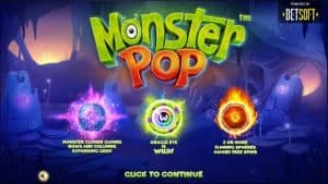 monster pop de Betsoft