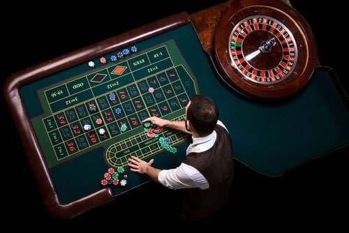 table jeu croupier en direct