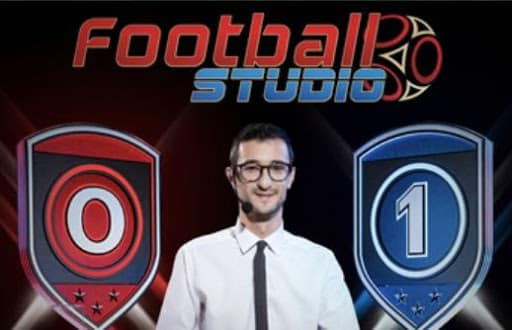football studio casino en direct avec croupier