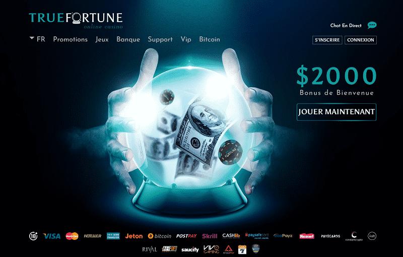 true fortune capture decran