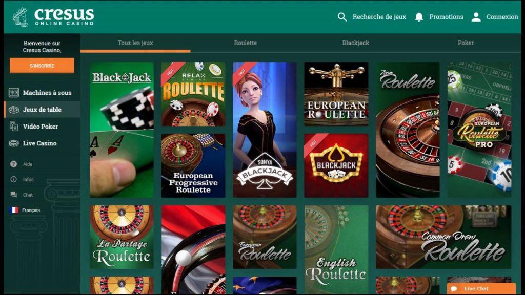 cresus casino ludotheque