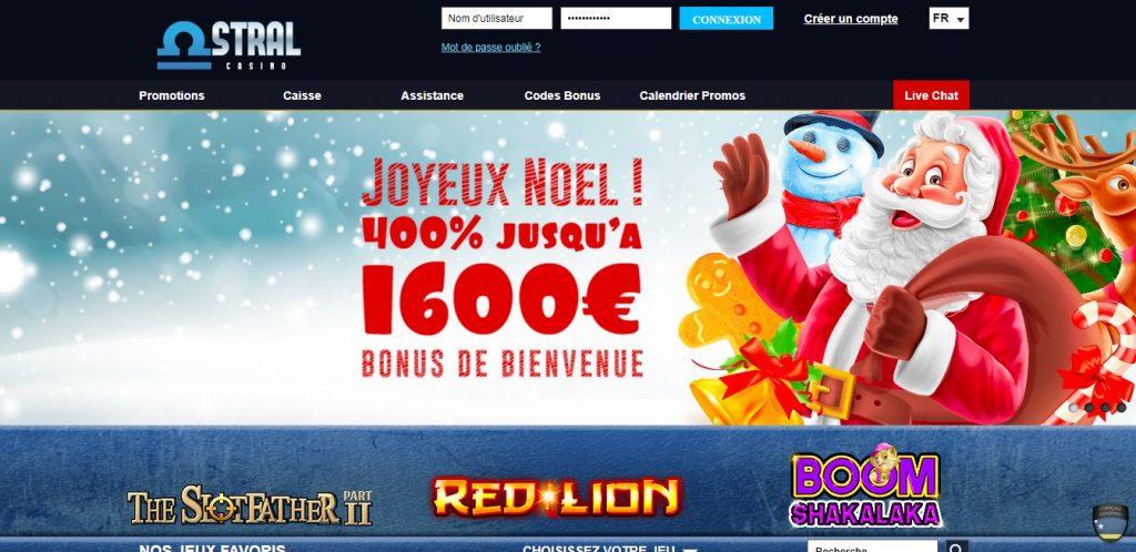 astral casino bonus noel
