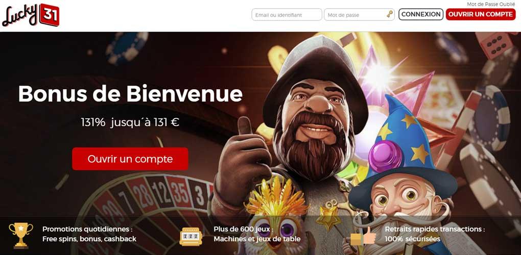 casino lucky31 avis