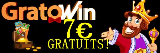 gratowin bonus 7 euros