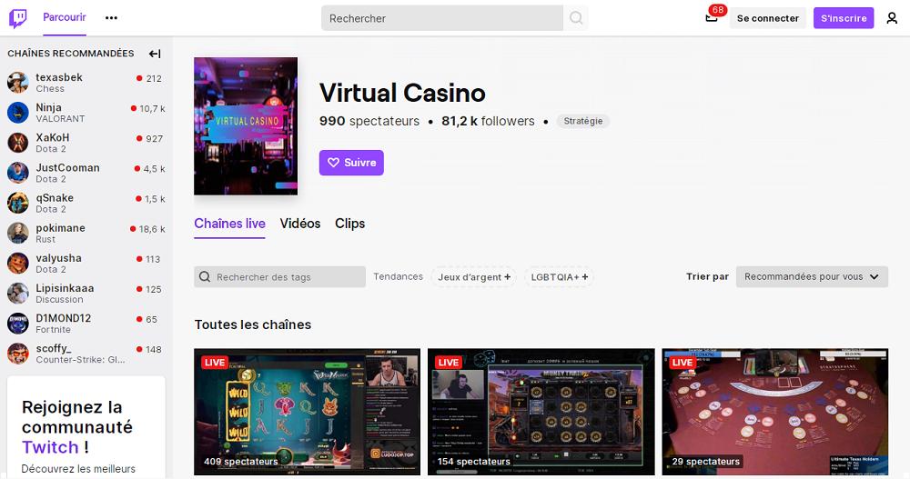 Twitch la plateforme de jeux en ligne
