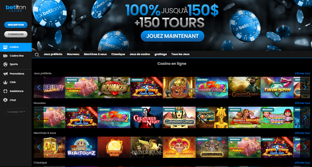betiton casino en ligne