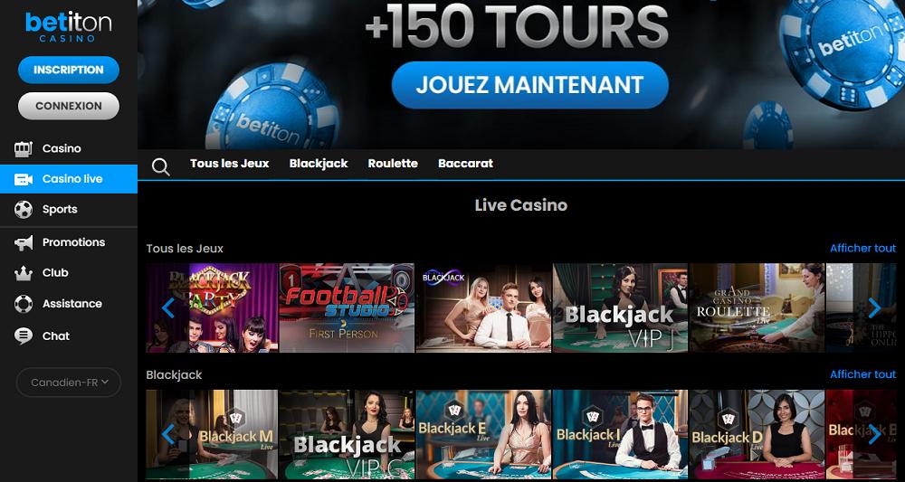 betiton casino live