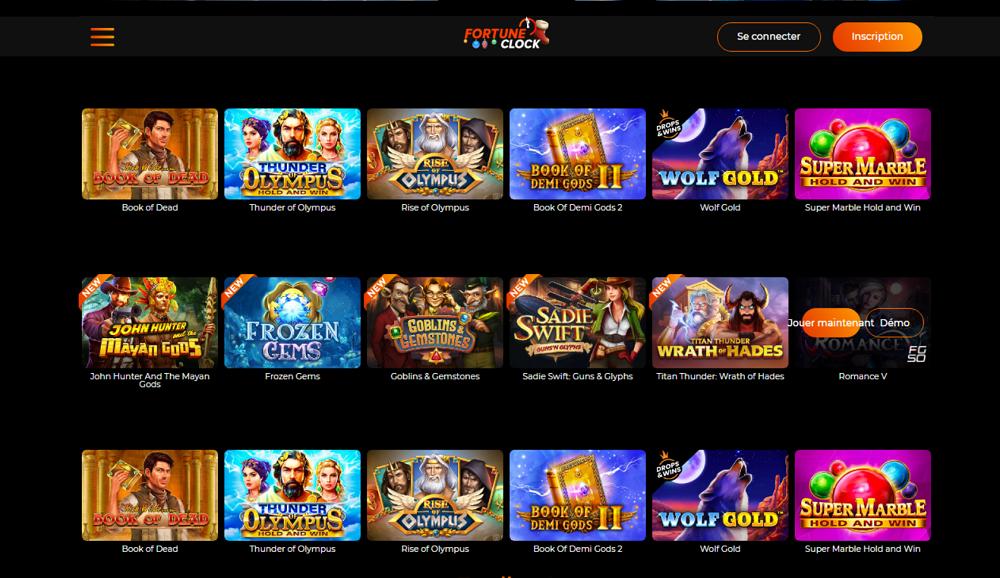catégories de jeu en plusieurs versions