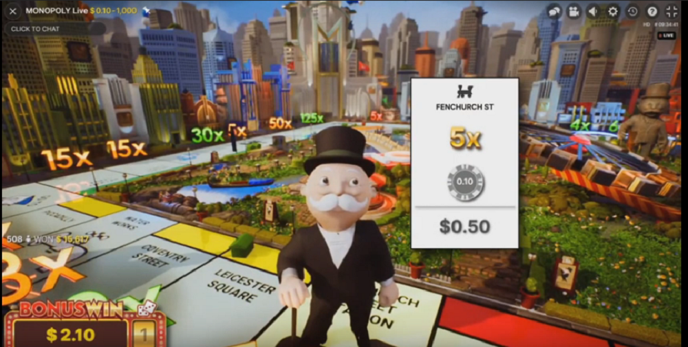Monopoly Live casino en direct