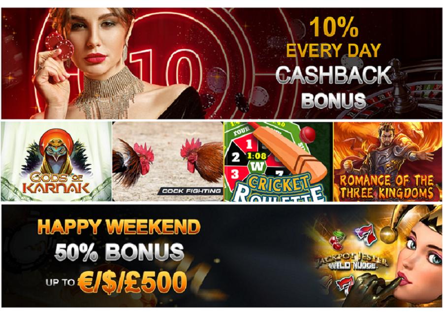 promotions exceptionnelles sur win monaco casino