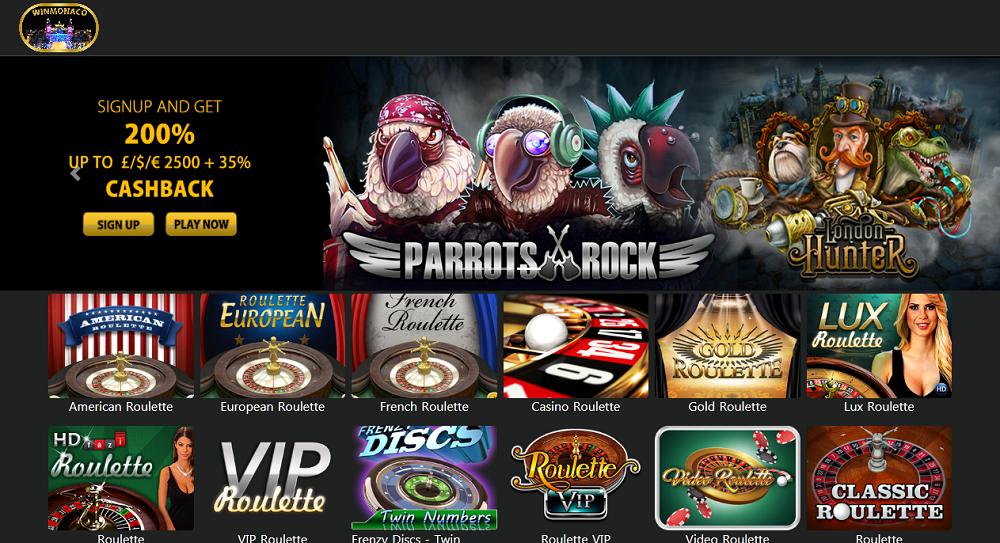win monaco casino jeux