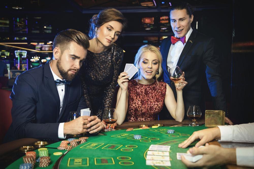 joueurs de blackjack