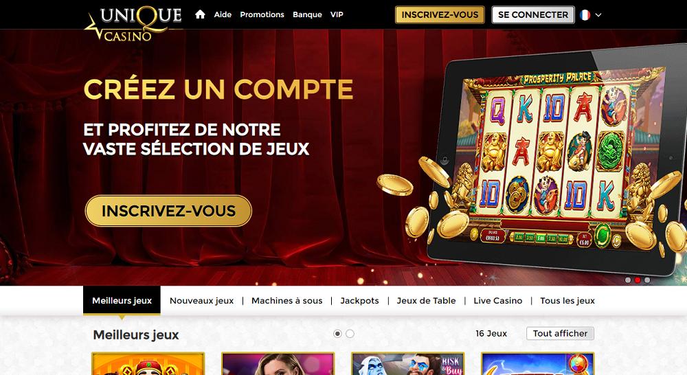 casino Unique