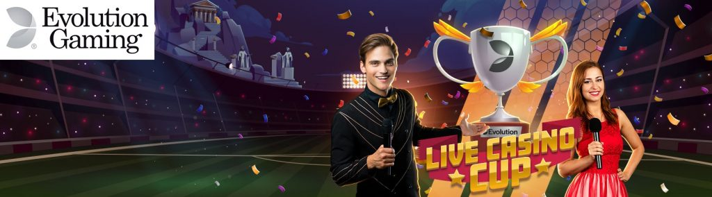 Evolution Gaming Live Casino Cup sur Lucky8