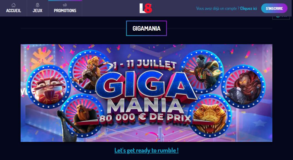 GigaMania jeux signés Yggdrasil
