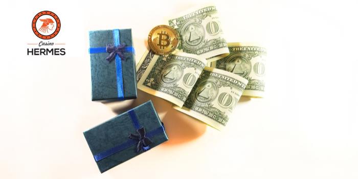 bonus bitcoin casino hermes