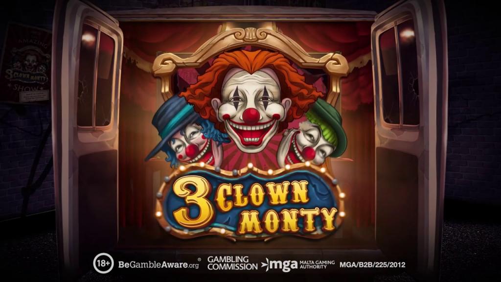 Machine a sous 3 Clown Monty