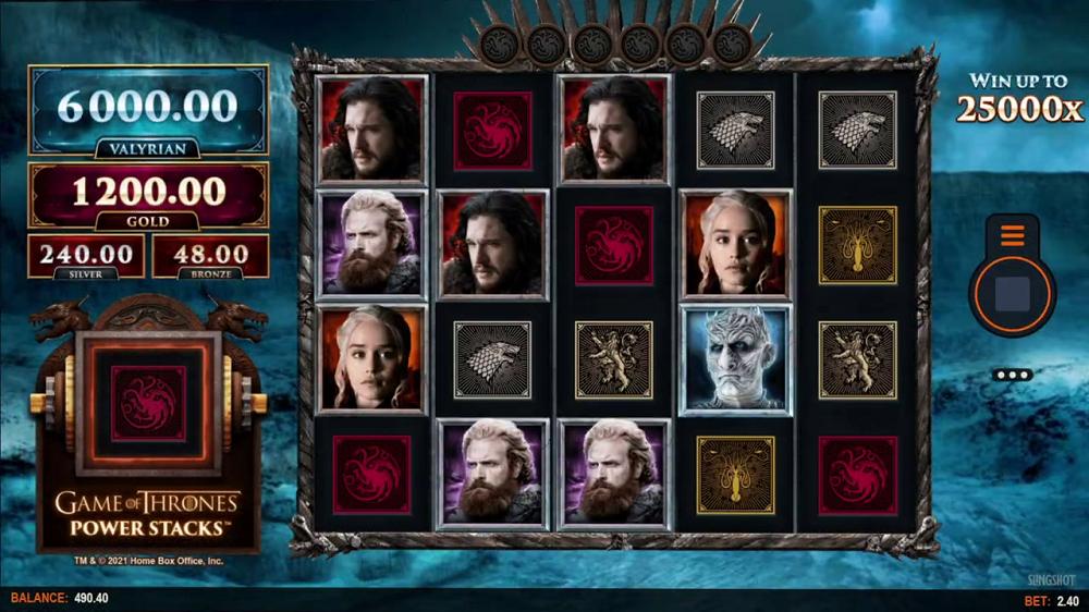 Game of Thrones de Microgaming