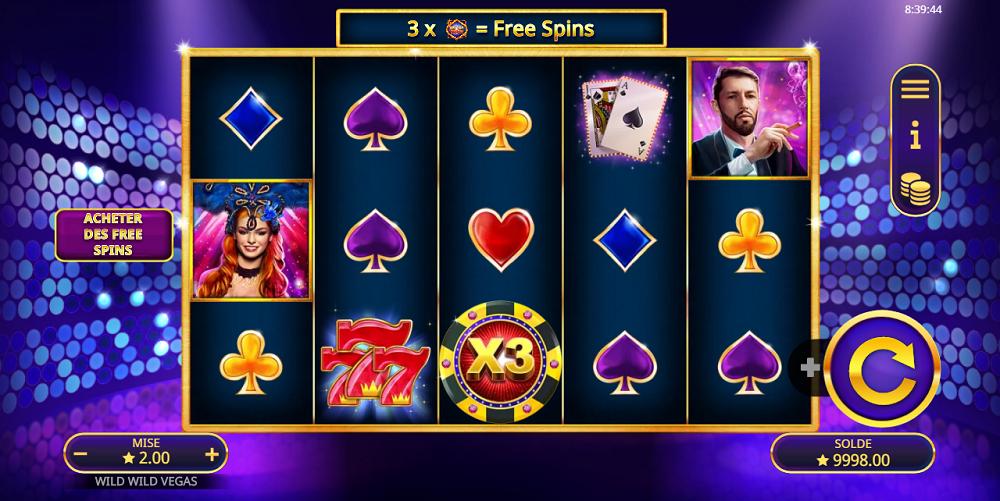 Wild Wild Vegas jeu d'argent en ligne