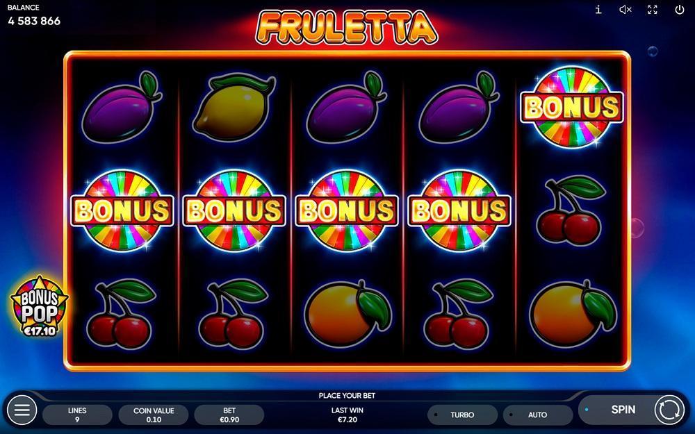 fruletta bonus