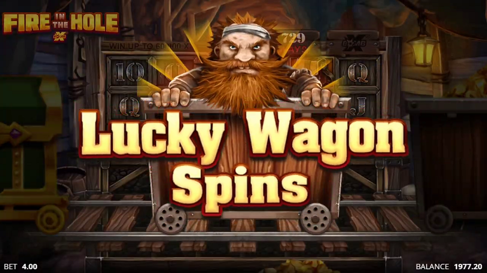 lucky wagon spins