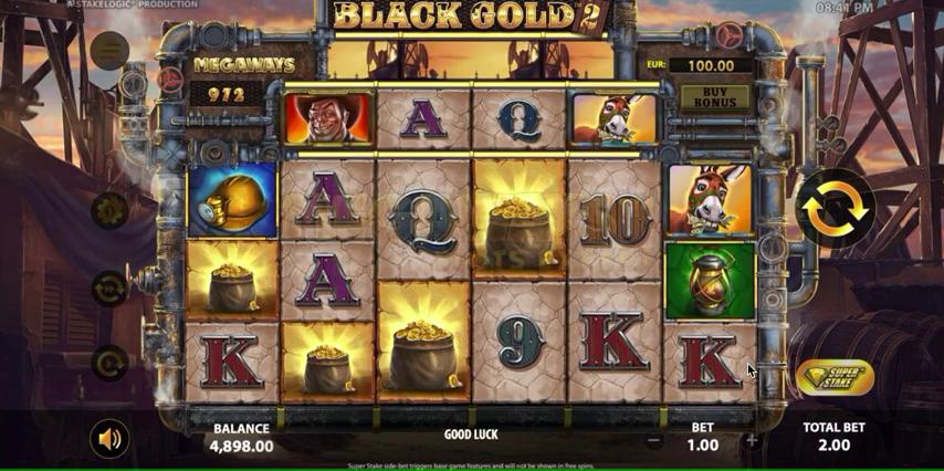 Black Gold 2 Megaways est la réédition de Black Gold
