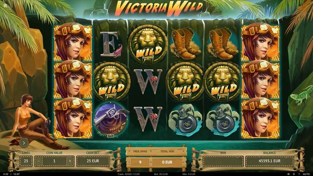 Fonction des Wild sur Victoria Wild