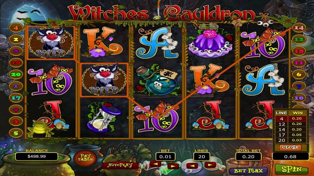 Witches Cauldron machine à sous