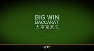 Big Win Baccarat iSoftBet
