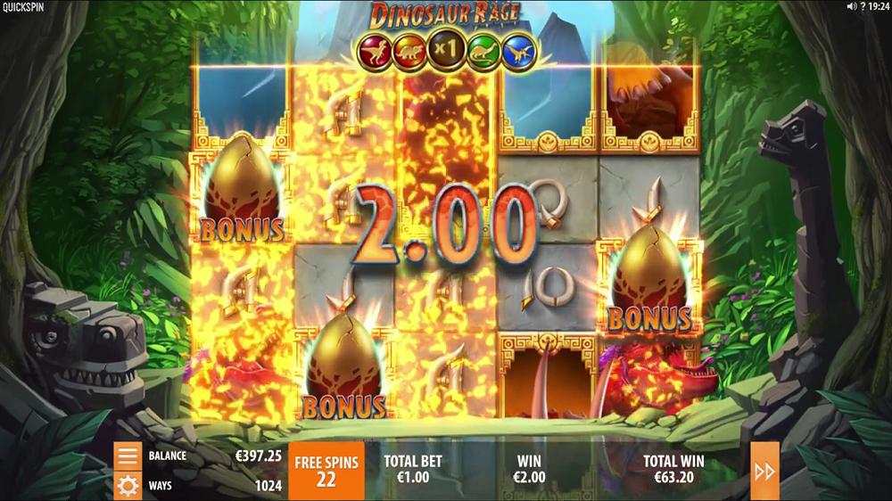 Gameplay de Dinosaur Rage