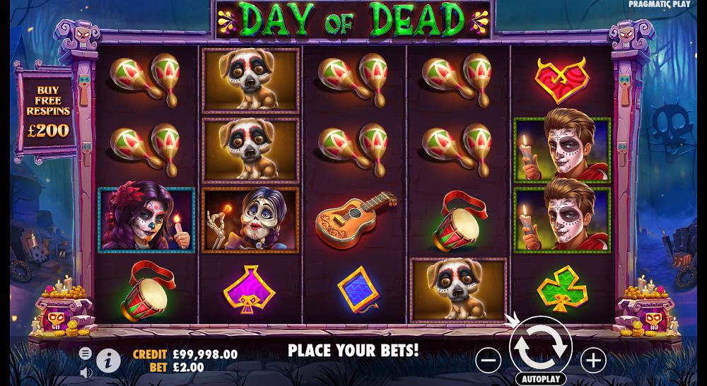 Symboles de Day of Dead