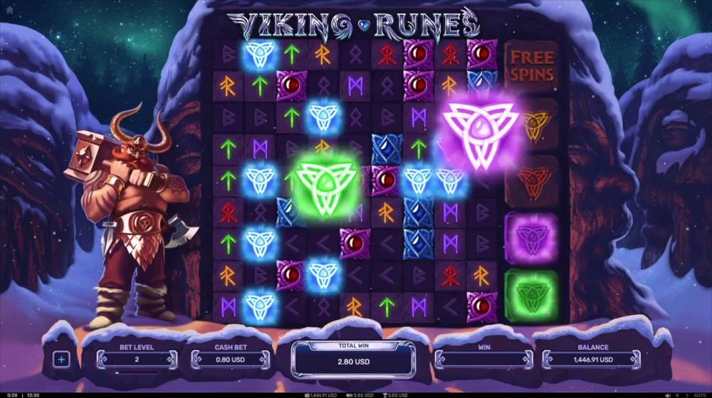 fonctionnalités Viking Runes