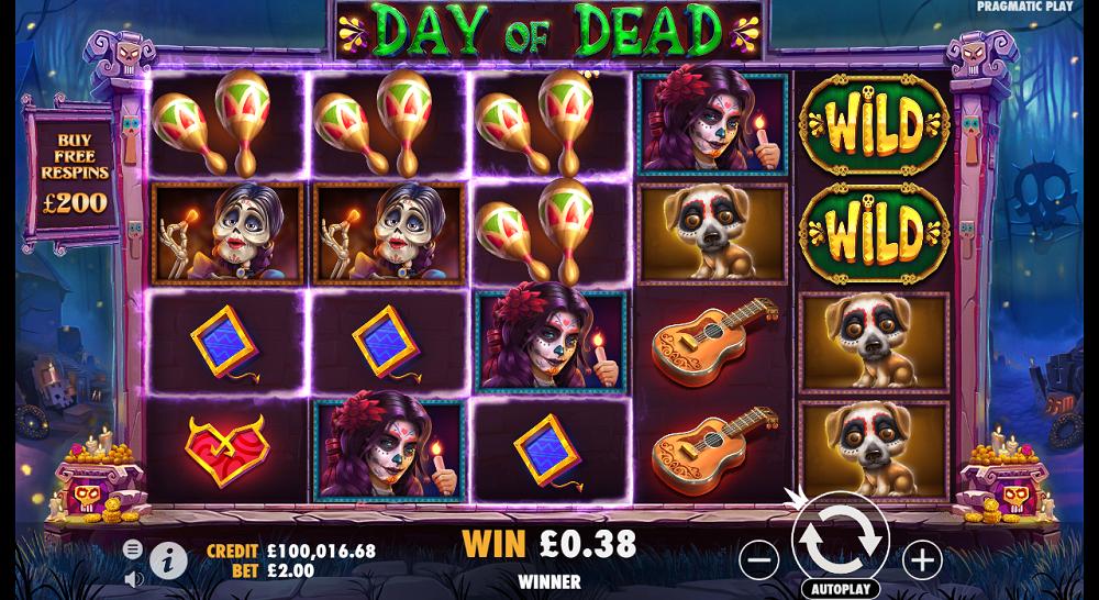 fonctionnalités de Day of Dead