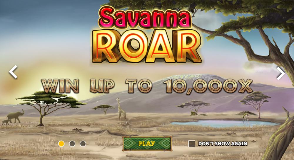 jeu machine a sous Savanna Roar