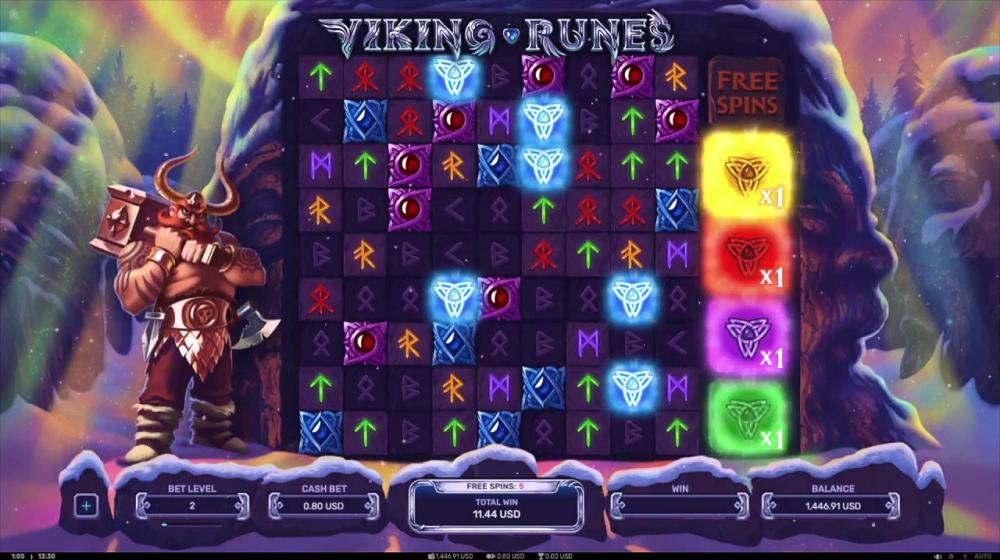 symboles Viking Runes